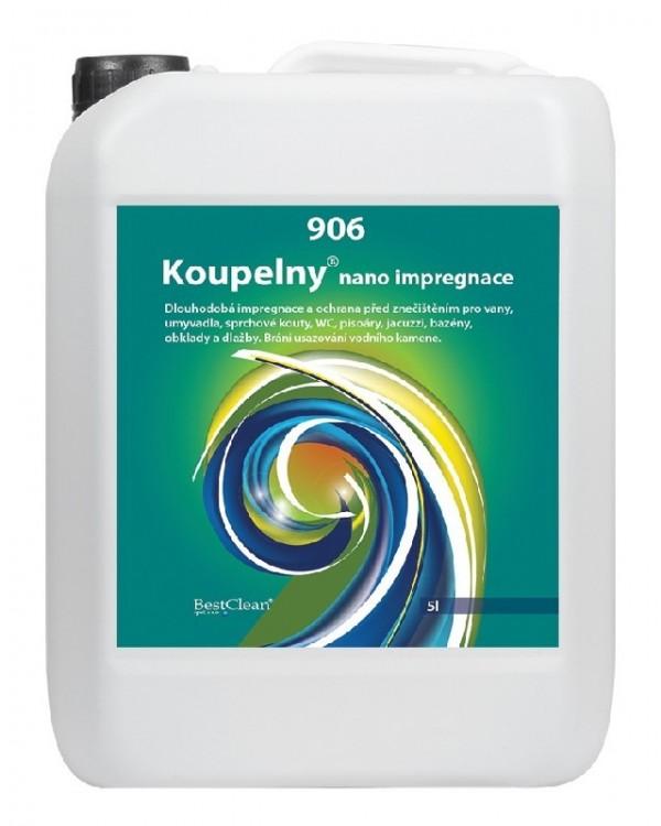 BC 906 koupelny NANO impregnace 5 litrů