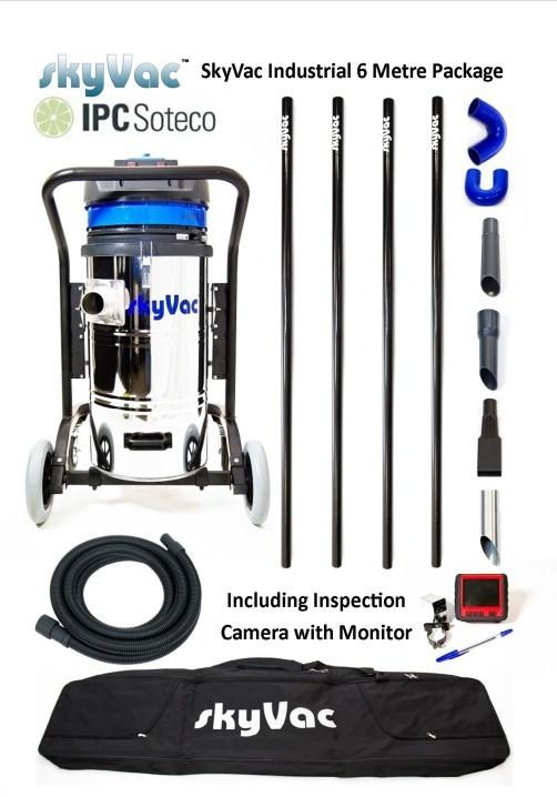 Profesiální vysavač SkyVac Industrial KSVIND6 s kamerovým systémem