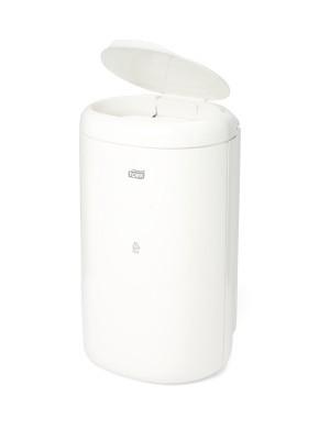 Odpadkový koš Tork 5 L bílý s víkem č.1