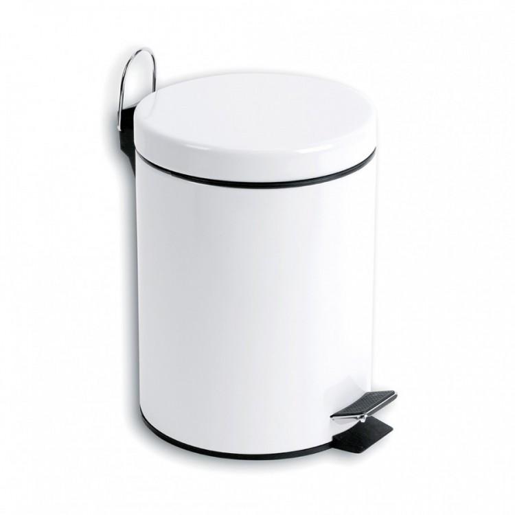 Odpadkový koš kovový 3 L nášlapný