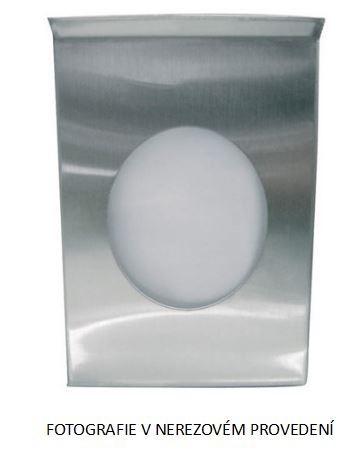 Zásobník hygienických sáčků nerez mat