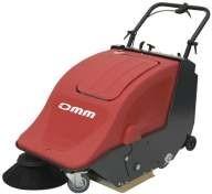 Zametací stroj OMM Sweeper 501BT