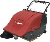 Zametací stroj OMM Sweeper 701BT