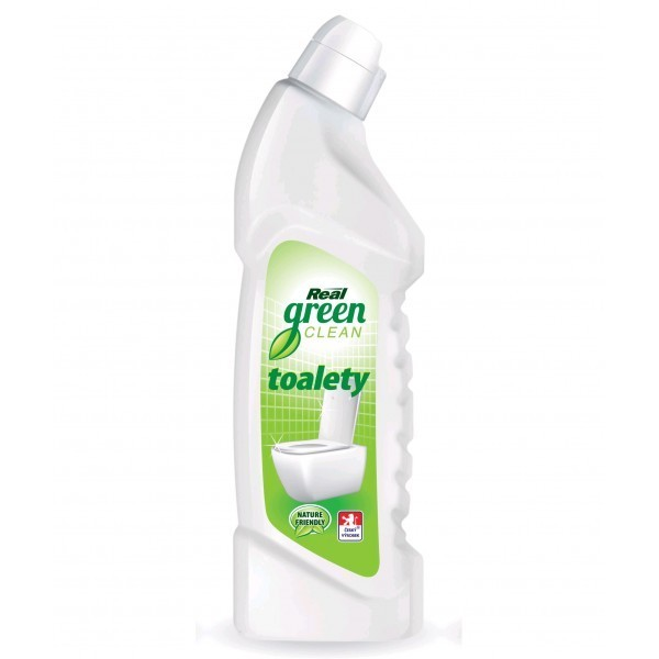 Real Green Clean Toalety gelový prostředek na toalety 750g