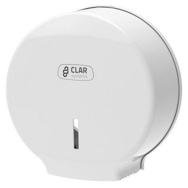 Zásobník toaletního papíru jumbo bílý Clarsystems