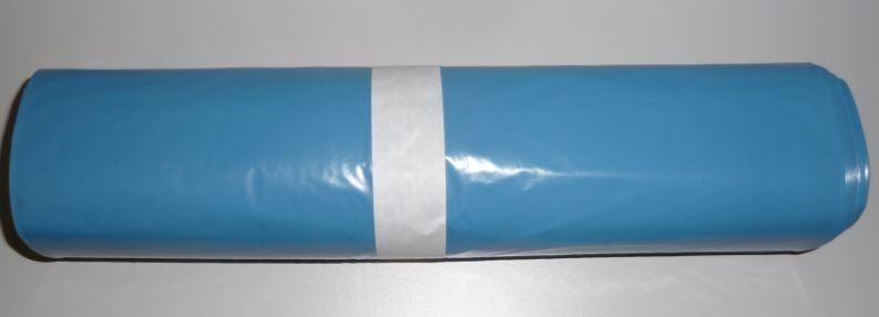 Pytel 700x1100 mm, modré, 60 mikronů 25 ks na roli