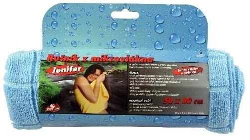 Rychleschnoucí ručník z mikrovlákna Jenifer 50 x 80 cm modrý
