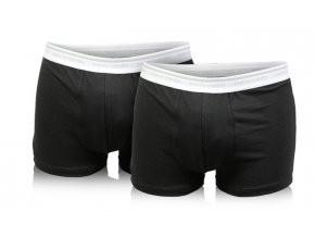 Pánské boxerky Pierre Cardin, černé, 2 pack