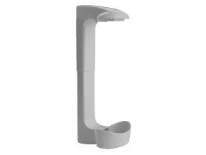 ISOLDA - držák lahve světle šedý