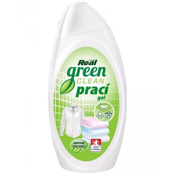 Real Green Clean prací gel s enzymy 1l