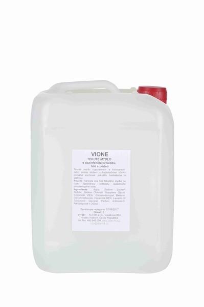 Tekuté mýdlo ANTIBAKTERIAL Vione bílé 5 litrů