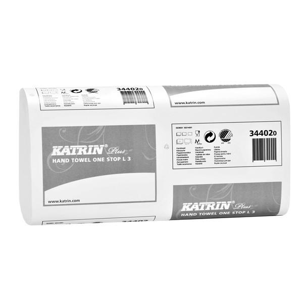 Skládané papírové ručníky KATRIN PLUS One Stop L3