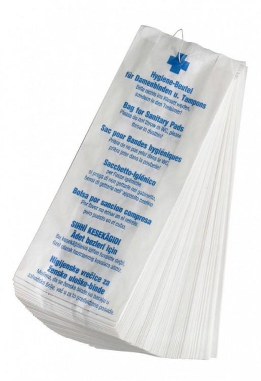 Hygienické papírové sáčky 100 ks – 12x4x28 cm
