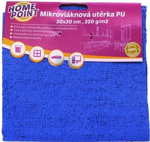 Mikroutěrka PU 30x30 cm 2 ks
