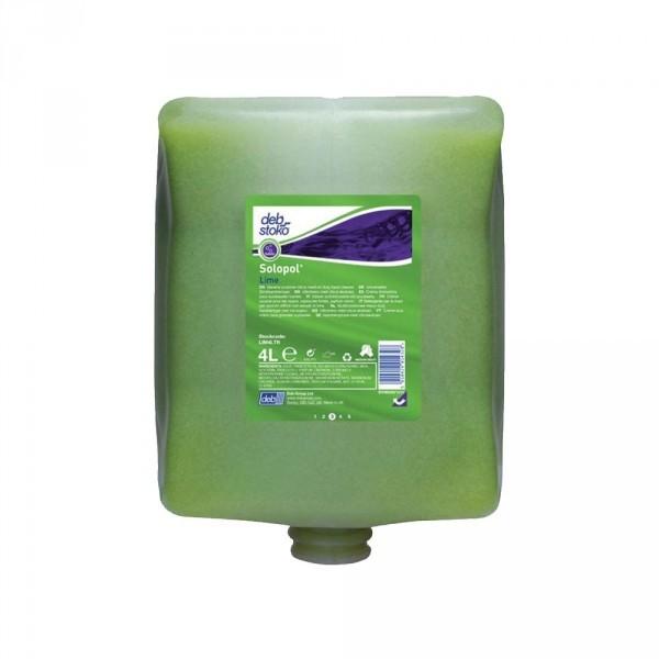 Mycí gel na ruce Solopol Lime 4x4 l