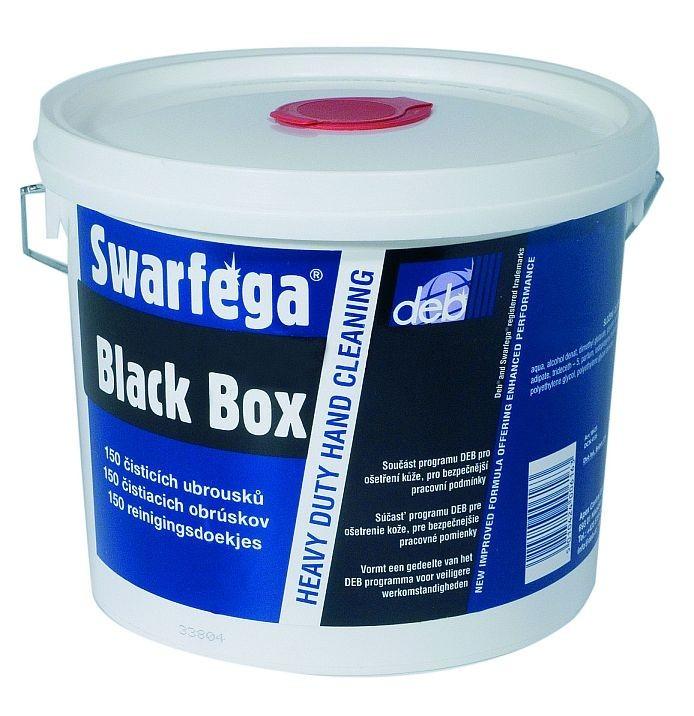 Vlhčené ubrousky Black Box 4x150 ks