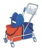 Úklidový vozík dvojkbelíkový