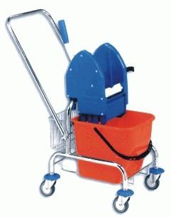 Úklidový vozík jednokbelíkový
