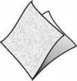Ubrousky 100 ks 33x33 cm 1 vrstvé bílé