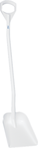 Vikan 56115 Lopata, dlouhá rukojeť, malá plocha, bílá