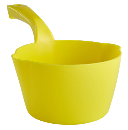 Vikan 56816 Kulatá naběračka, 1l, žlutá