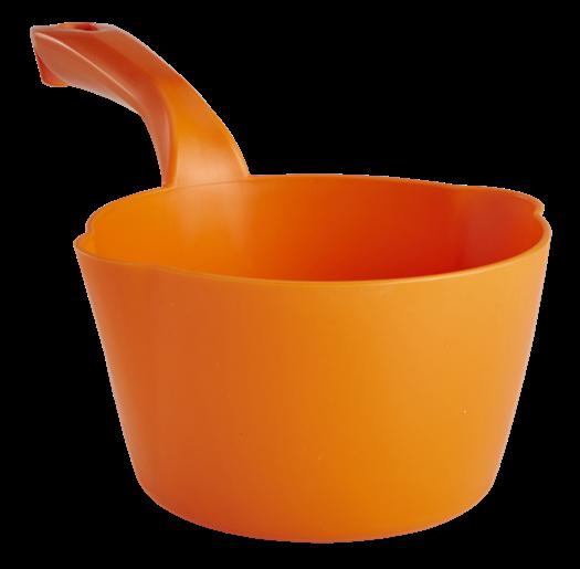 Vikan 56817 Kulatá naběračka, 1l, oranžová