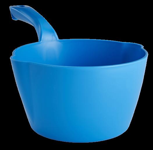 Vikan 56823 Kulatá naběračka, 2l, modrá