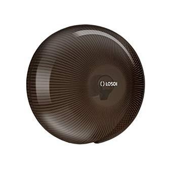 Zásobník na toaletní papír polykarbonát černý (kouřový) do průměru 20 cm č.1