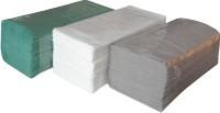 Ručníky papírové skládané ZZ zelené