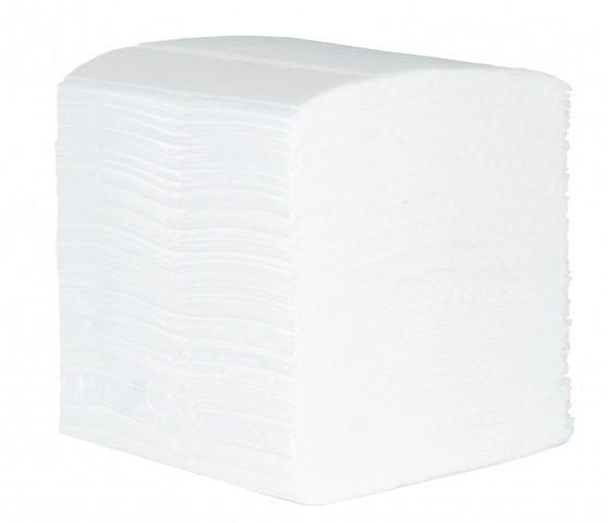 Toaletní papír skládaný 9000 ks dvouvrstvý