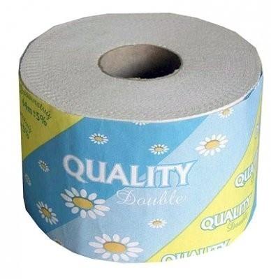 Toaletní papír dvouvrstvý bílý 1000 útržků