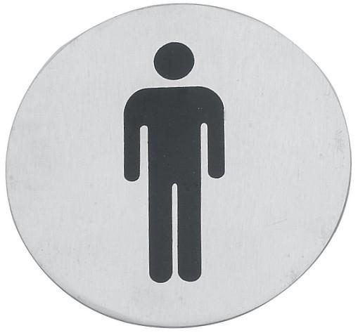 Cedulka WC muži