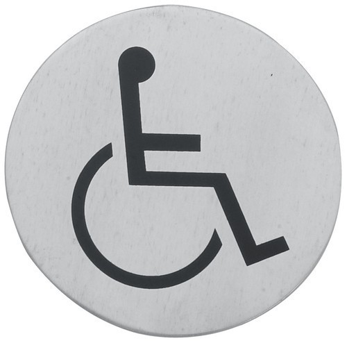 Cedulka WC invalidé
