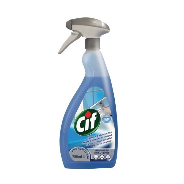 Cif Professional Windows and Multi Surface 750ml